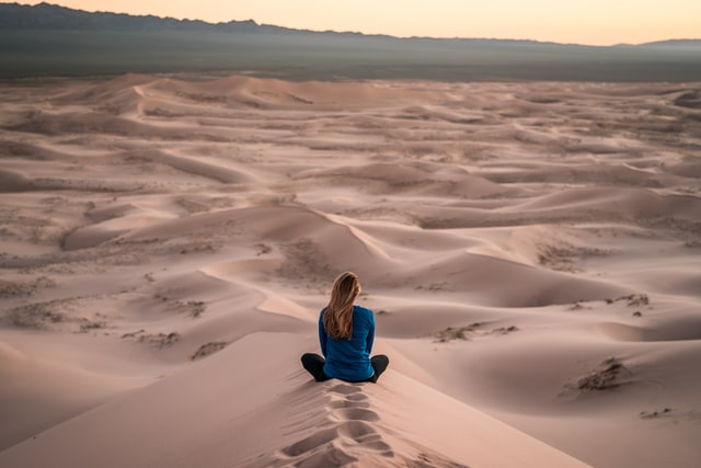 méditer pour calmer l'anxiété